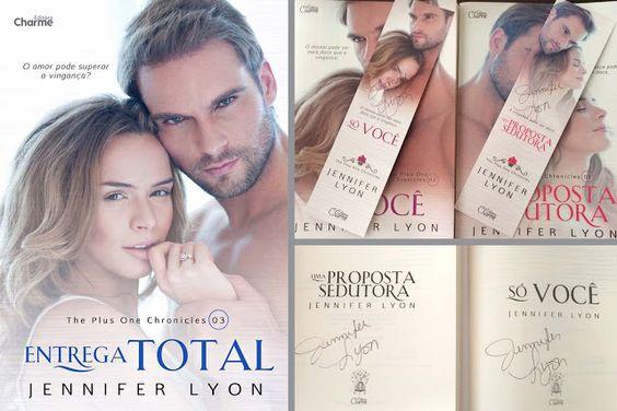 Saleta de Leitura Entrega Total, Jennifer Lyon - 3º e último livro The Plus One Chronicles - Editora Charme