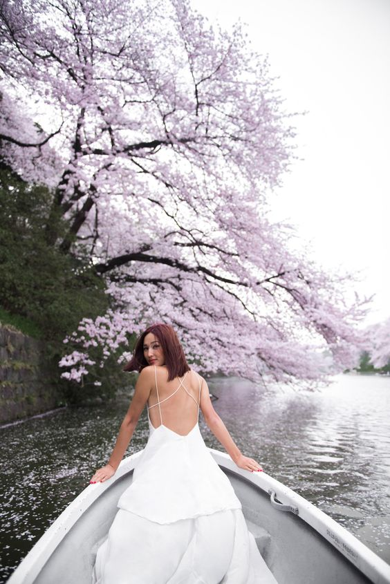 nicole_warne-luke_shadbolt-engagement-2 This shot is everything . Sakura trees Tokyo, Garypeppergirl .:
