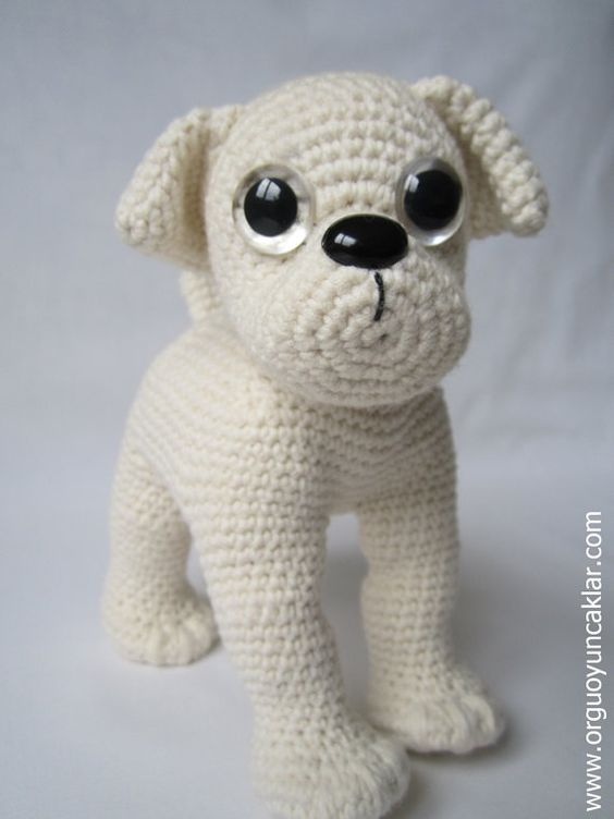 Amigurumi Bulldog Pattern by Denizmum on Etsy