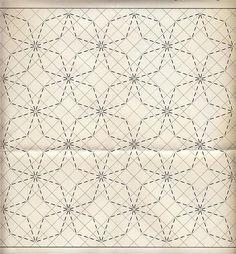sashiko patterns                                                                                                                                                                                 Más                                                                                                                                                                                 Más: