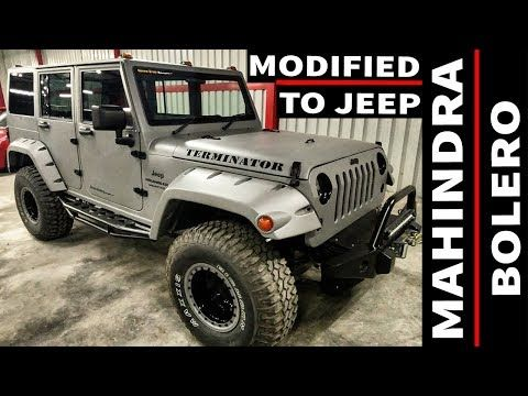 Mahindra Bolero Modified Body Modification Into Jeep Wrangler