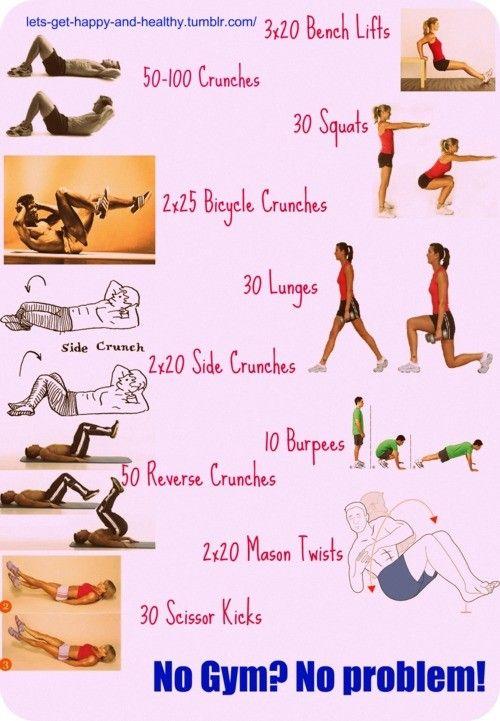 no gym, no problem!