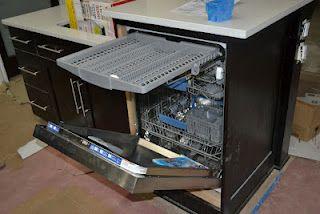 dishwasher with silverware drawer