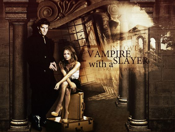 A Vampire in love with a Slayer... by JuliaAngels.deviantart.com on @DeviantArt