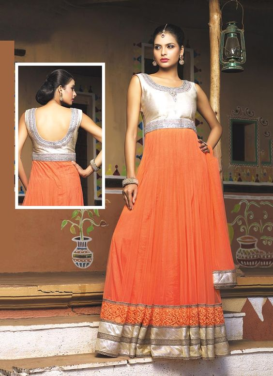 Buy salwar kameez online from an endless collection of latest salwar suit. Shop sightly embroidered and patch border work anarkali salwar kameez for party and wedding.