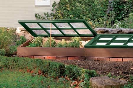 Follow our instructions for this cold frame to foster seedlings in early spring and keep veggies going through fall and even into winter. | Photo: Matthew Benson | thisoldhouse.com