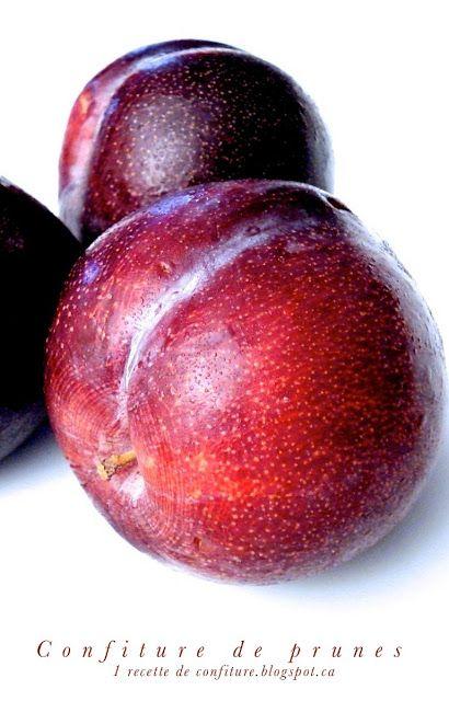 1 recette de confiture: Confiture de prunes