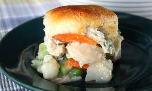 Skinny Chicken Pot Pie | Recipe | Pot Pies, Chicken Pot ...