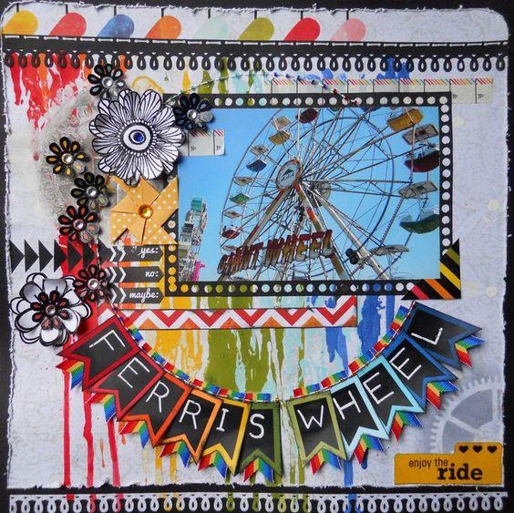 Ferris wheel fair