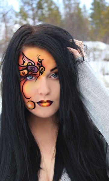 Maquillage, Artistique, Oiseau De Paradis, Paradise Eye, Paradise Makeup, Paradise Female, Paradise Monarch, Paradise Phoenix, Paradise Check