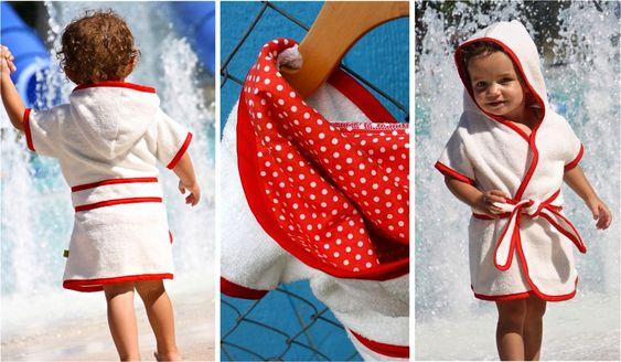 Beach Robe   MADE. boy/girl 3mos - 4T.