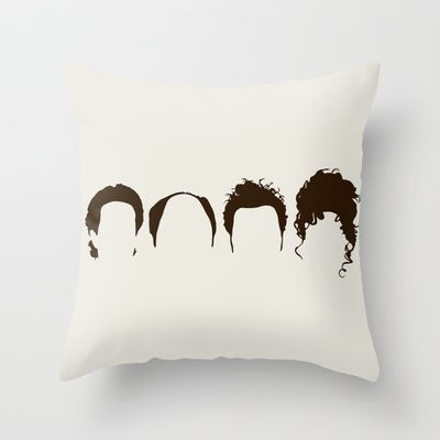 Seinfeld+Hair+Throw+Pillow+by+Bill+Pyle+-+$20.00