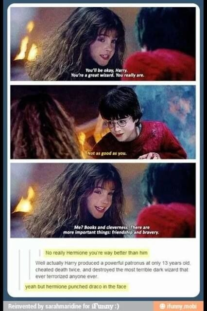 Lol hermione rules!
