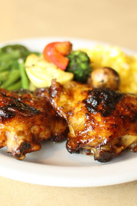 Key West Chicken Recipe with Honey, Soy, Garlic & Lime