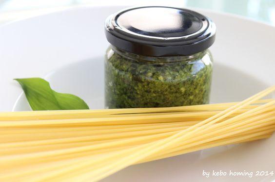 Spaghetti al pesto... ein Klassiker in einer Variante... #Bärlauch #Pesto #Pasta