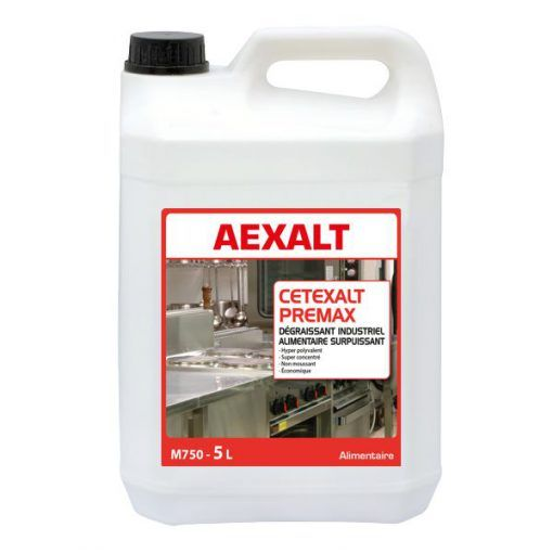 Degraissant Industriel Alimentaire Cetexalt Premax Aexalt