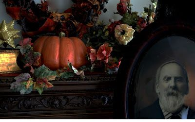 Halloween home from A Harvest and Halloween Handbook: