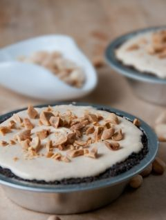 Creamy Peanut Butter Pie ... for Mikey