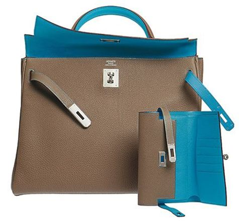 hermes kelly, bag and wallet. love love love - i need these now!!