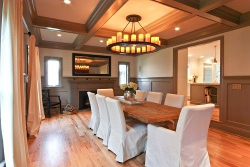 """chandeliers ideas in casual traditional dining room 