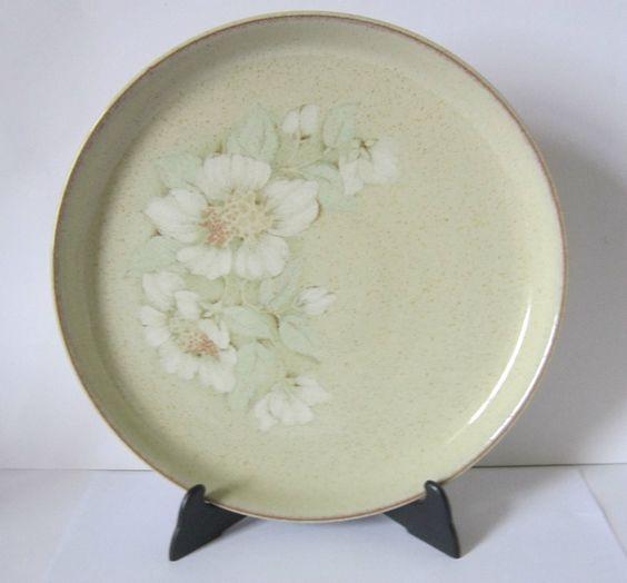 Superb Denby  Daybreak  Round Platter 12.52 (32.5cm) DiameterRound & Superb Denby