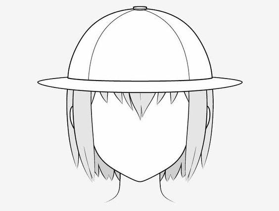 Vẽ nón thám hiểm anime