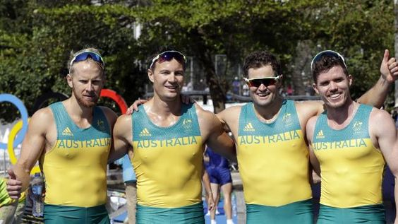 Rowing at Rio Olympics 2016: We need to talk about the Australian men's uniforms
