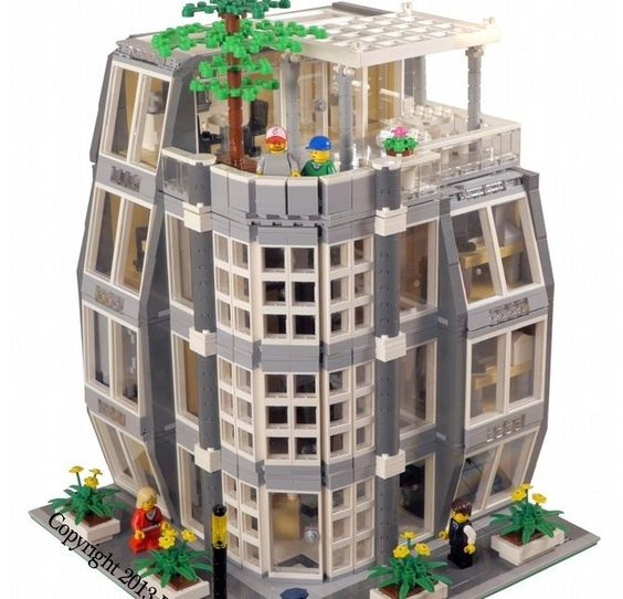 how to build a skyscraper with legos