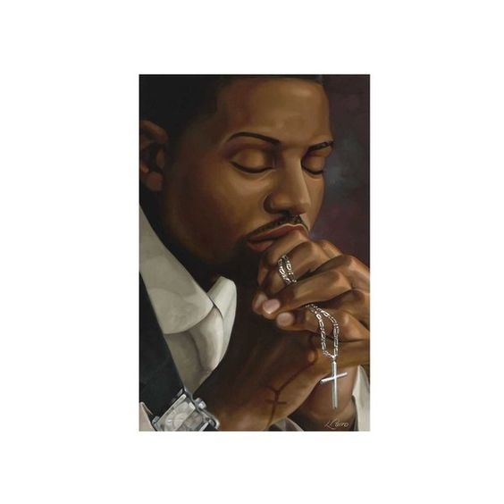 His Time Well Spent Wall Art Print (€40) ❤ liked on Polyvore featuring home, home decor, wall art, african american wall art, african american figurines and african american home decor