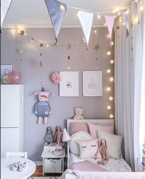 Alles Wat Jij Moet Weten Over Kleur Little Girl Bedroom Ideas For Small Rooms Teenager Bedroom House Beautifu Toddler Girl Room Girl Room Toddler Rooms