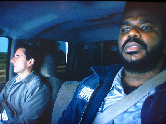 Craig Robinson and Steve Carell