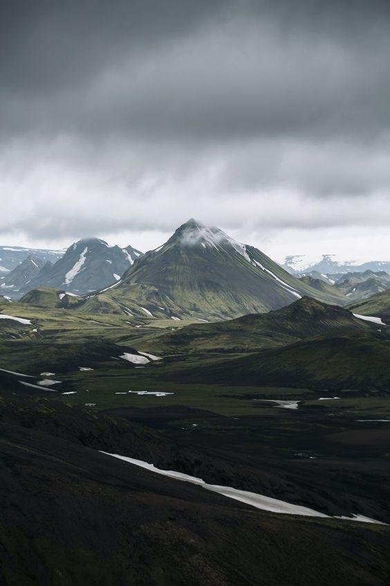 Tierras altas de Landmannalaugar, Islandia