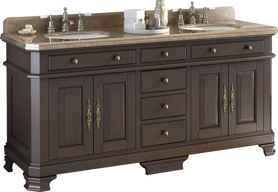 Penelope Double Bathroom Vanity Set