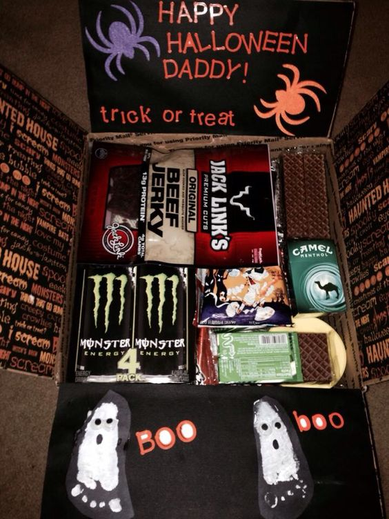 Halloween care package for our soldier