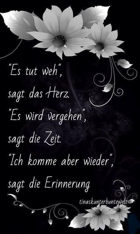 Pin Von Lena Auf Seele Trauer Zitate Sprüche Und