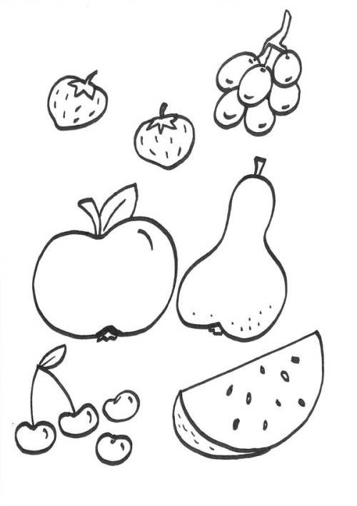 Menschen Und Ihr Zuhause Obst Zum Ausmalen Zum Ausmalen Kostenlose Ausmalbilder Kostenlose Malvorlagen Ausmalen