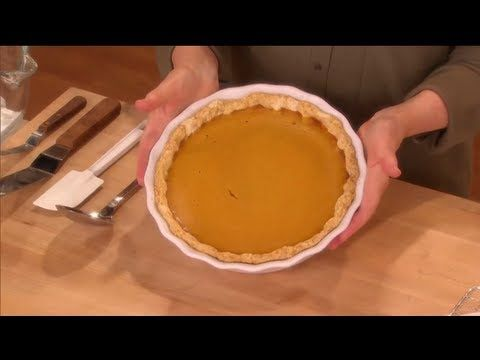 Deep-Dish Pumpkin Meringue Pie ⎢Martha Stewart | Autumn Festivities ...