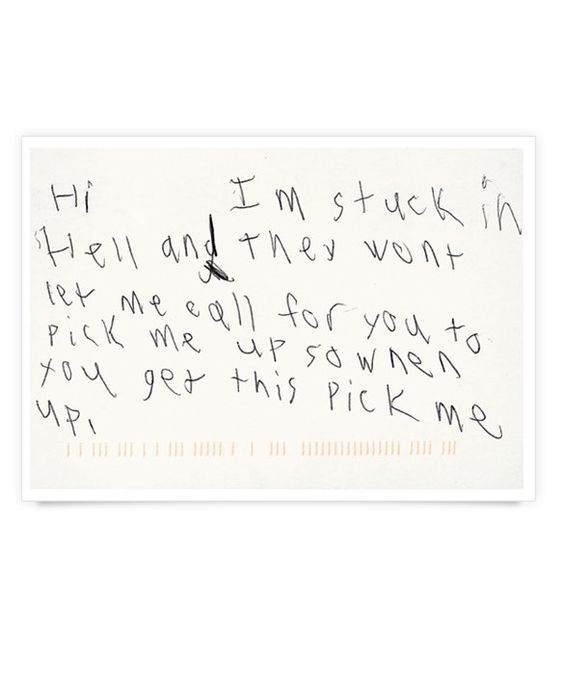 Stuck In   A Letter From Camp I Want To Stick This In A