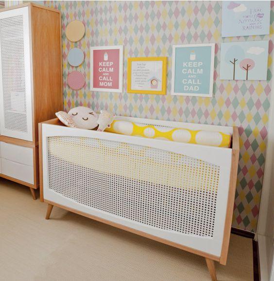 Decoracao Quarto De Bebe Joinville ~   quarto de bebe moderno  Decor  Pinterest  Quartos, Bebe and Tela