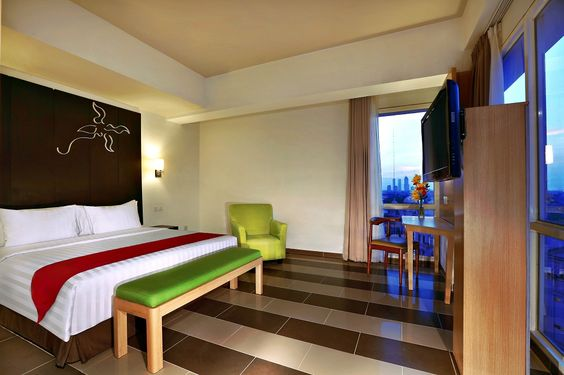 Deluxe room - Double bed - Atria Hotel Gading Serpong