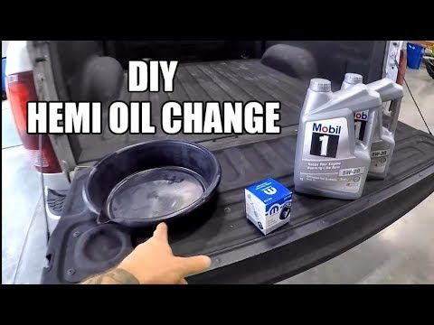 How To Change Your Engine Oil Diy 5 7l Hemi Dodge Ram 1500 2500 Youtube Dodge Ram 1500 Dodge Ram Ram 1500