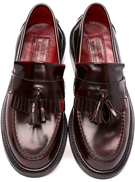 Shoes Men's Loafers Rude Boy Oxblood Suedehead Delicious Junction