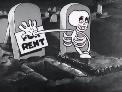 Max Fleischer cartoon (probably directed by Dave Fleischer, his brother).