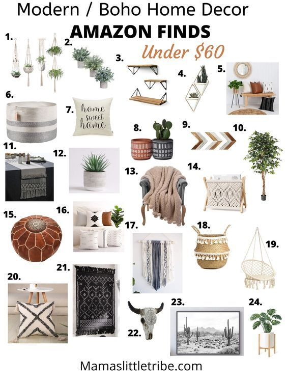 Looking For Affordable Farmhouse Modern Or Boho Home Decor I Ve Got You Covered With My Amazon Fav In 2021 Boho Living Room Decor Boho Bedroom Decor Amazon Home Decor Farmhouse living room decor amazon