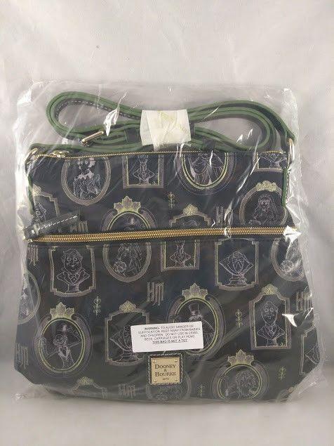 Disney Parks Dooney Bourke Haunted Mansion Portraits Crossbody Handbag New Dooney Cross Body Handbags Handbag