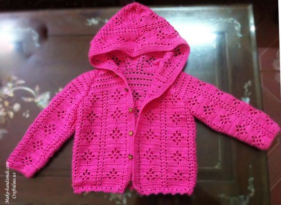 Crochet Baby Sweater Diagram : Pinterest The world s catalog of ideas