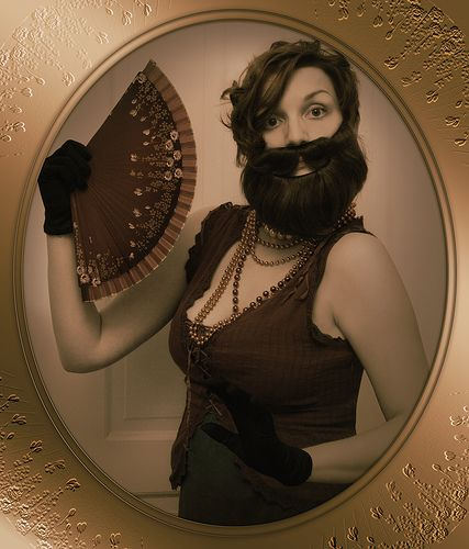 cordelia the bearded lady | because: a. I'm going to (yes an… | Flickr