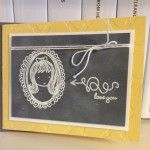 Love this card made with the Sweetie Pie stamp set.