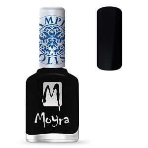 Moyra Stamping Nail Polish- No. 06 (Black)
