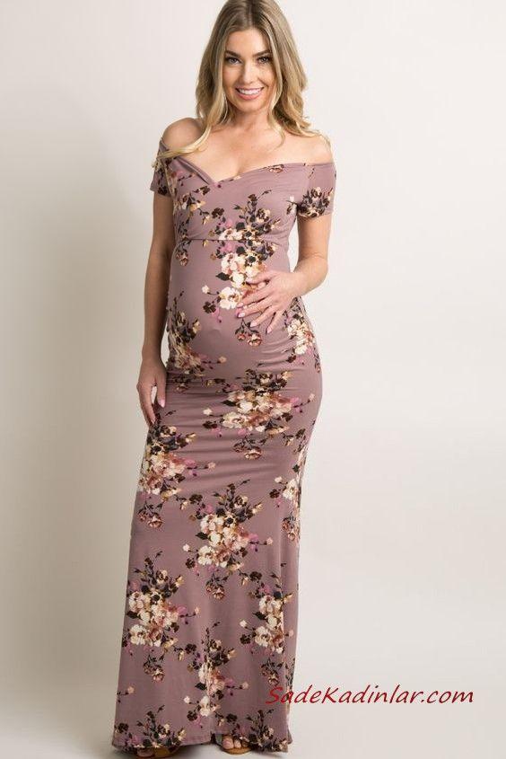 En Rahat 2020 Tesettur Hamile Elbise Modelleri 2020 Elbise Modelleri Moda Stilleri Elbise